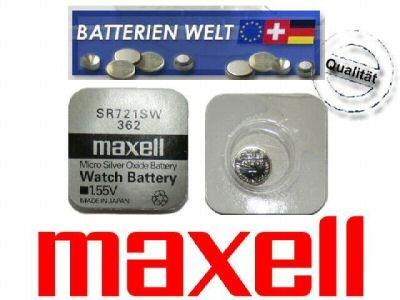 SR721SW Maxell Uhrenbatterie
