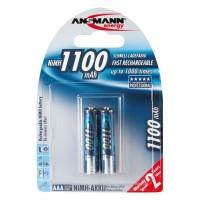 Ansmann AAA 1100 mAh Akku Professional Micro 2er Pack