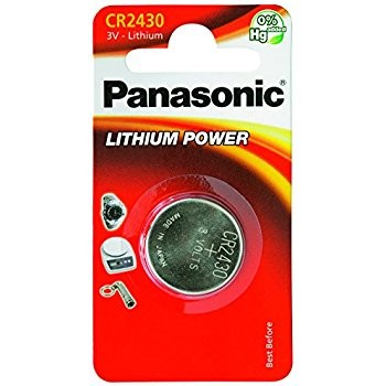CR2430 PANASONIC Knopfzelle Lithium 1er Pack