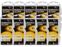 Typ 10 Hörgerätebatterien DURACELL ACTIVAIR PR70 60er Pack