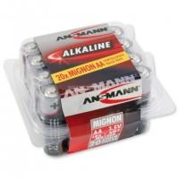 AA Batterien ANSMANN LR06 Mignon RED Alkaline 20er Box