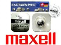 SR927W Maxell Uhrenbatterie