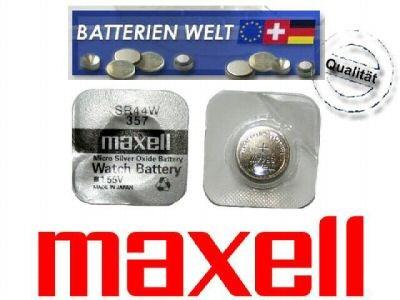 SR44W Maxell Uhrenbatterie