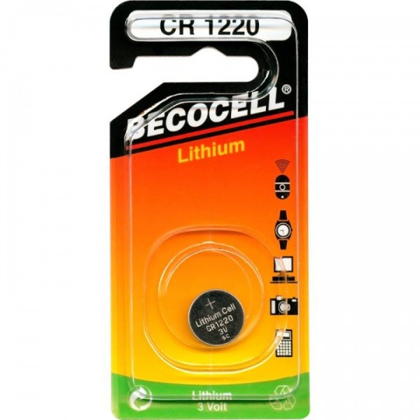 CR1220L BECO Knopfzelle Lithium 1er Pack