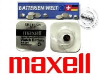 SR516SW Maxell Uhrenbatterie