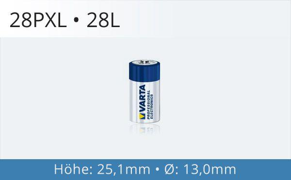28PXL Fotobatterie
