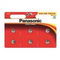 LR44 PANASONIC Knopfzelle 6er Pack