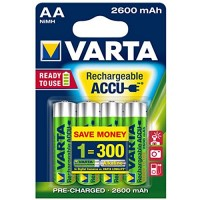 AA Akkus VARTA 2600 mAh 5716 Accu Power 4er Pack