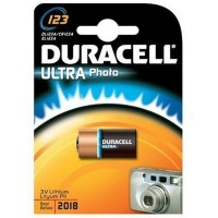 CR123a Duracell 123 Ultra Photo 1er Pack