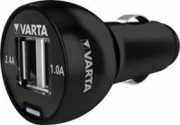 Varta USB Car Charger inkl. Micro USB Lade-u. Datenkabel