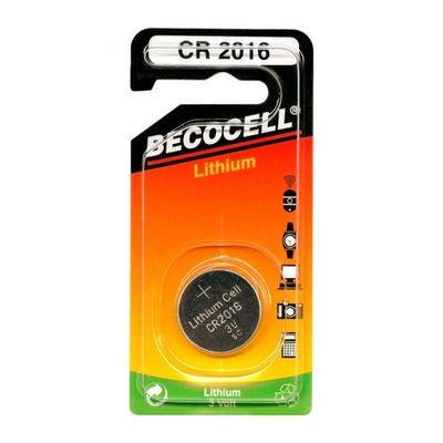 CR2016L BECO Knopfzelle Lithium 1er Pack