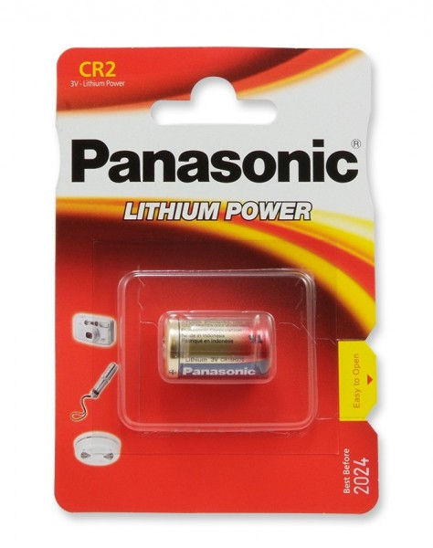 CR2 PANASONIC Lithium Power CR2L 1er Pack