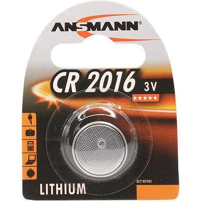 CR2016 ANSMANN Knopfzelle Lithium 1er Pack