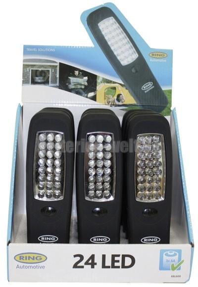 Automotive 24 LED Flat Light