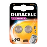 LR43 DURACELL Knopfzelle