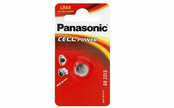 LR44 PANASONIC Knopfzelle 1er Pack