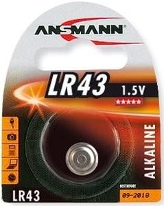 LR43 ANSMANN Knopfzelle