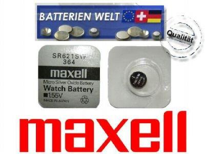 SR621SW Maxell Uhrenbatterie