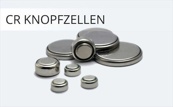 CR Knopfzellen