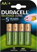 Duracell AA Akku Recharge Mignon 2500mAh 4er Pack