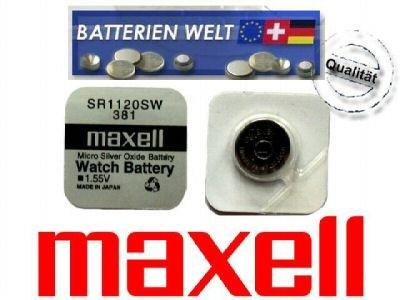 SR1120SW Maxell Uhrenbatterie