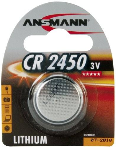 CR2450 ANSMANN Knopfzelle Lithium 1er Pack