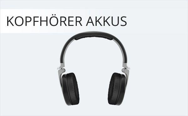 Kopfhörer Akkus