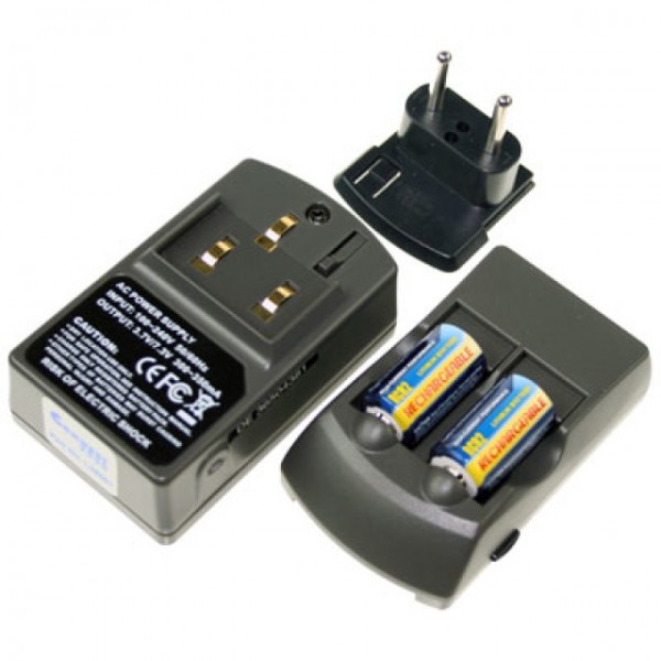 CR2 Akku Ladegeräte-Set Connect3000