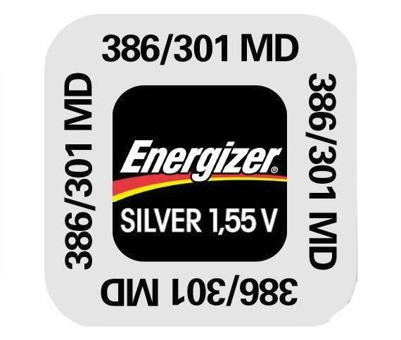 386-301 MD Energizer Uhrenbatterie