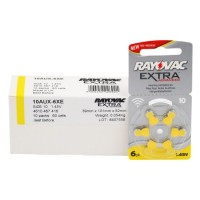 Typ 10 Hörgerätebatterien RAYOVAC Extra Advanced R10AE PR70 60er Pack