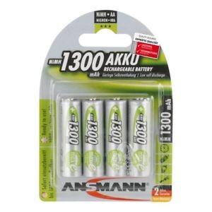 AA Akkus ANSMANN 1300 mAh maxE Mignon green 4er Pack