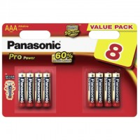 AAA Batterien PANASONIC LR03 Micro Pro Power 8er Pack