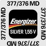 377-376 MD Energizer Uhrenbatterie