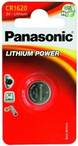 CR1620 PANASONIC Knopfzelle Lithium 1er Pack