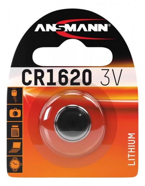 CR1620 ANSMANN Knopfzelle Lithium 1er Pack