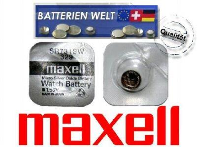 SR731SW Maxell Uhrenbatterie