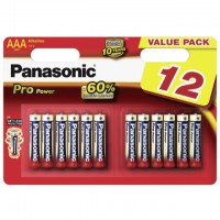 AAA Batterien PANASONIC LR03 Micro Pro Power 12er Pack