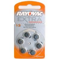 Typ 13 Hörgerätebatterien RAYOVAC Extra Advanced R13AE PR48 6er Pack