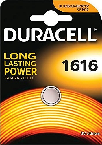 CR1616 DURACELL Knopfzelle Lithium 1er Pack