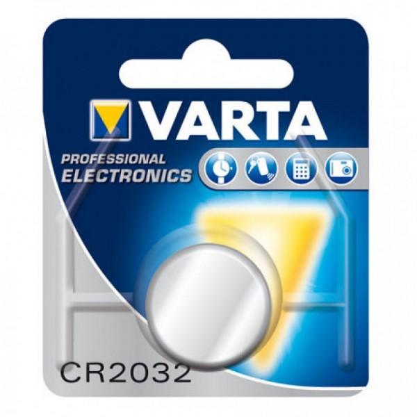 CR2032 VARTA Knopfzelle Lithium 1er Pack