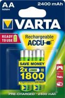 AA Akkus VARTA 2400 mAh 56756 Accu Power 2er Pack