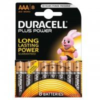 AAA Batterien DURACELL LR03 Micro MN2400 Plus Power 8er Pack