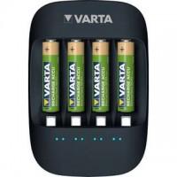 Varta Eco Charger mit 4x AAA 800mAh Akkus - aus 50% Bioplastik