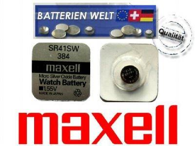 SR43SW Maxell Uhrenbatterie