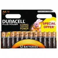 AA Batterien DURACELL LR06 Mignon MN1500 Plus Power 12er Pack