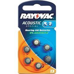 Typ 13 Hörgerätebatterien VARTA RAYOVAC Acoustic Special HA13 PR48 6er Pack