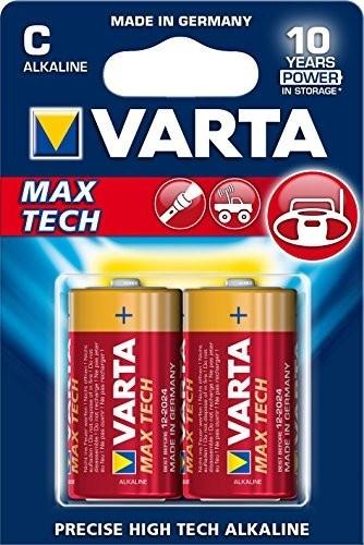 Babyzellen VARTA LR14 Baby-C Max Tech 4714 2er Pack
