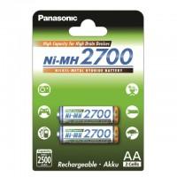 AA Akkus PANASONIC 2700 mAh HR-3U-2BP-2700 2er Pack