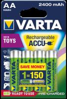 AA Akkus VARTA 2400 mAh 56756 Power Akku 4er Pack