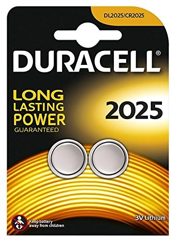 CR2025 DURACELL Knopfzelle Lithium 2er Pack